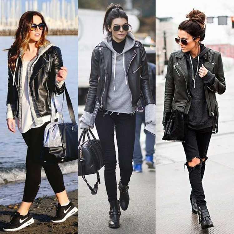 Looks mega estilosos com jaqueta de couro