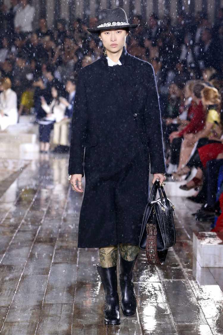 Tendência da Moda segundo a Dior