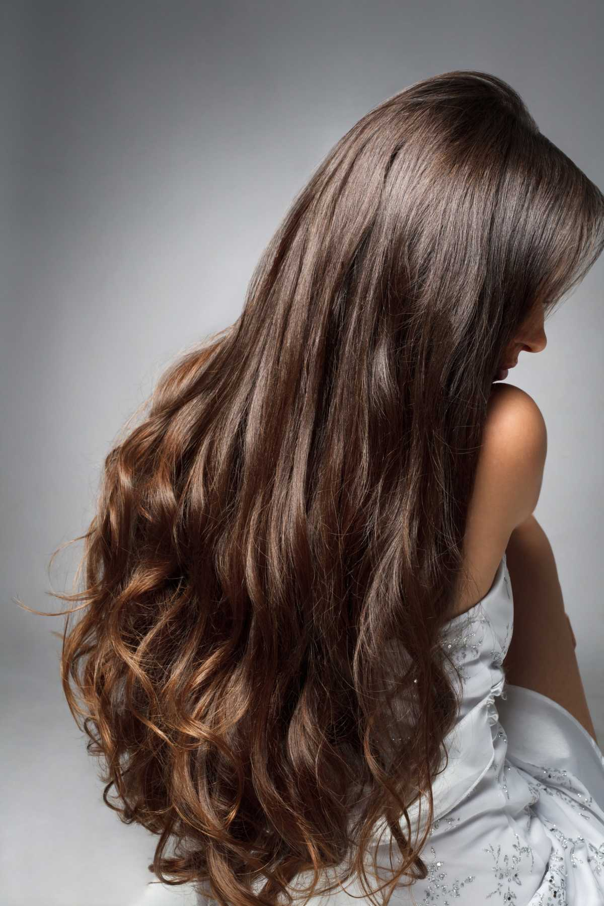 Modelo de corte para cabelo longo