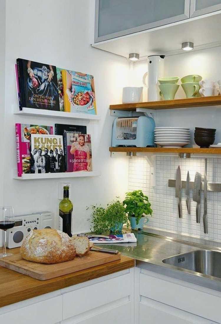 Regras de Iluminação para cozinhas pequenas