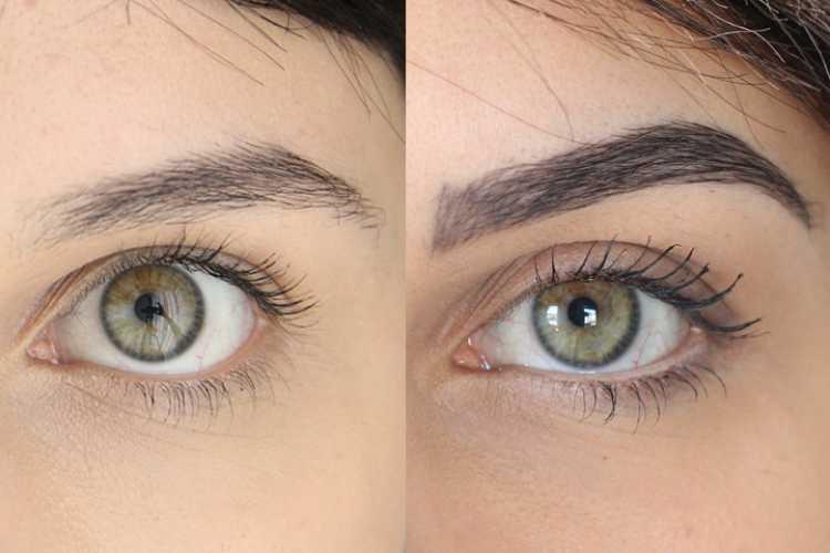 Foto de micropigmentação de sobrancelhas