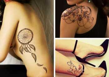 Melhores tatuagens femininas