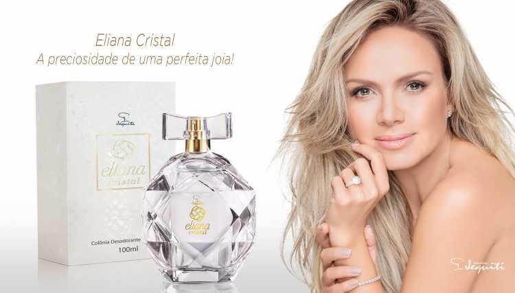 Eliana Cristal (Jequiti) é um dos perfumes femininos brasileiros para se orgulhar