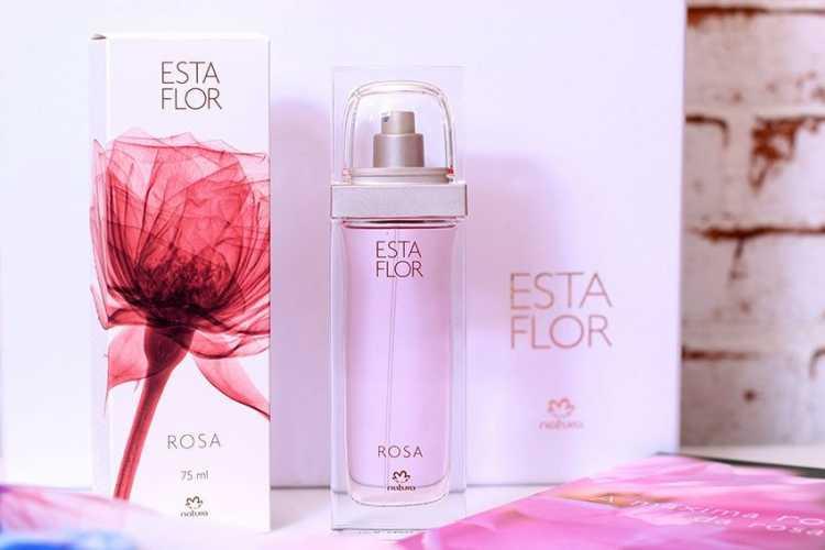 Esta flor rosa (Natura) é um dos perfumes femininos brasileiros para se orgulhar
