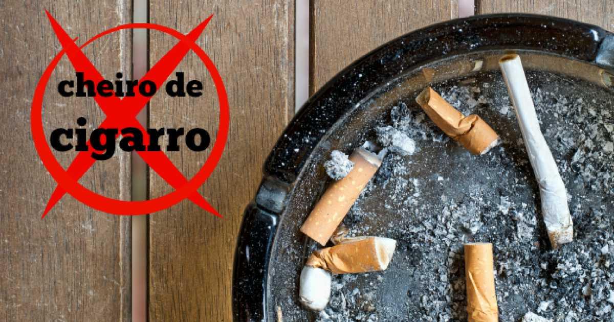 Saiba como tirar o cheiro de cigarro da boca, roupas e mãos
