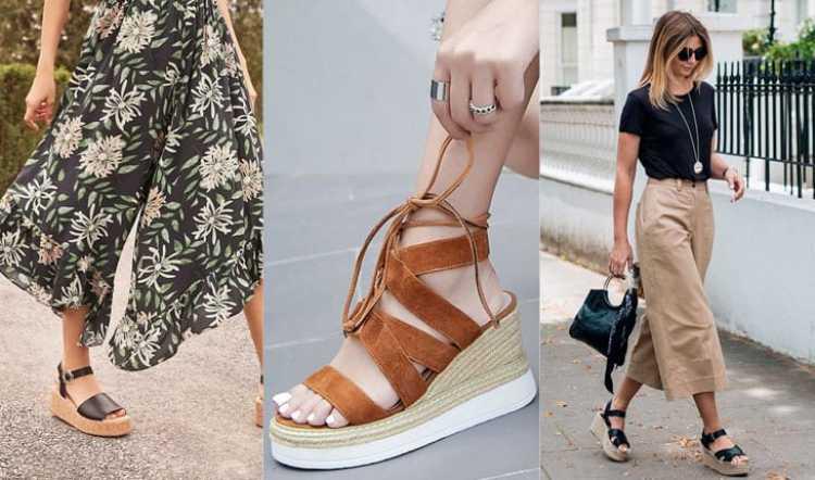Flatforms é uma das tendências da moda verão 2019