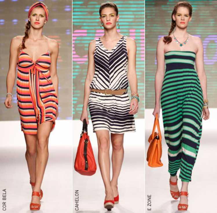 Listras na moda verão 2019