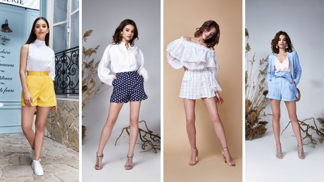 Ideias de looks com shorts de cintura alta