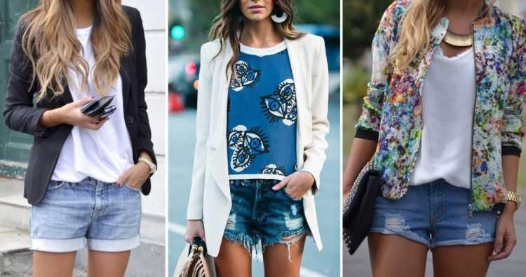 Camisa leve + shorts destroyed é uma das inspirações de look estiloso e fresco para o verão 2019