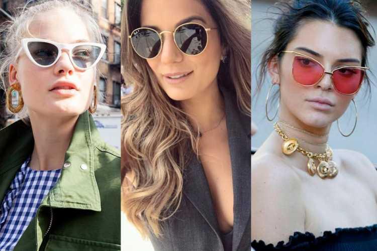 Óculos retrô é uma das tendências de moda que seguirão absolutas em 2019