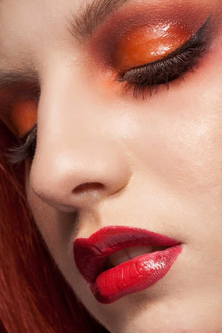 Sombra Gloss laranja