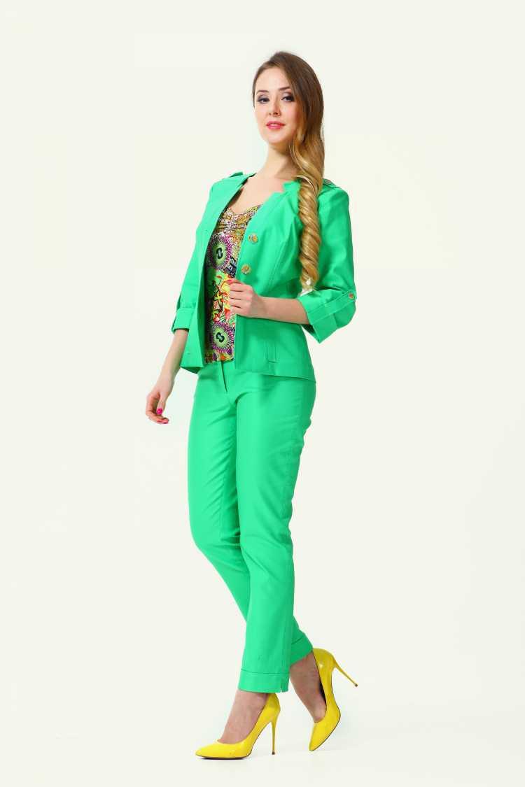 look com terninho feminino verde para balada