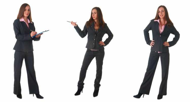 Terninho feminino formal para trabalhar