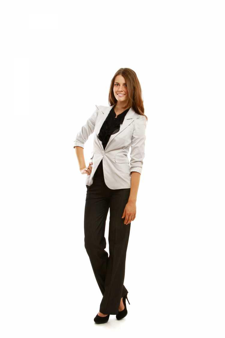 Terninho feminino formal para trabalho