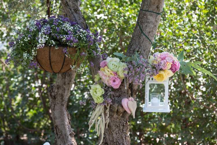 luminárias na decoração de casamento