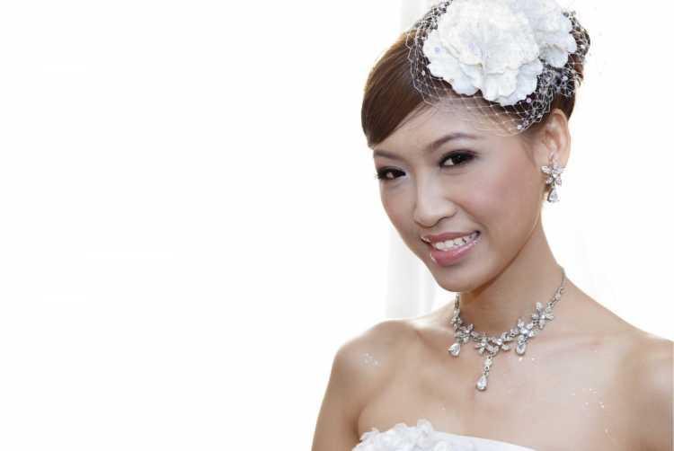 Maquiagem para noiva oriental