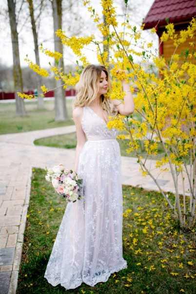 vestido de noiva todo em renda