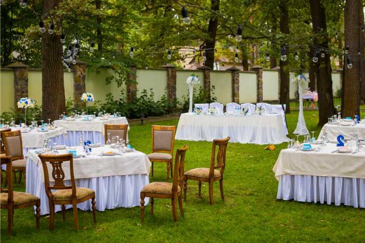 casamento simples decoração