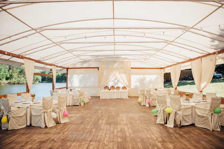 tenda para casamento ao ar livre