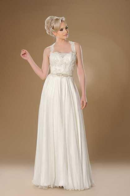 vestido soltinho com cropped bordado e decote reto