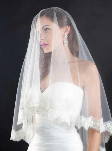 véu ideal para um vestido de noiva perfeito com decote coração