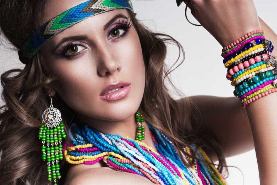 bijuterias coloridas