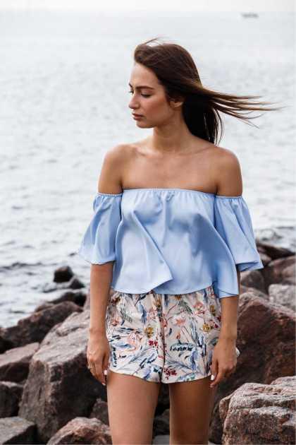 blusa ciganinha será uma das tendência no verão 2020