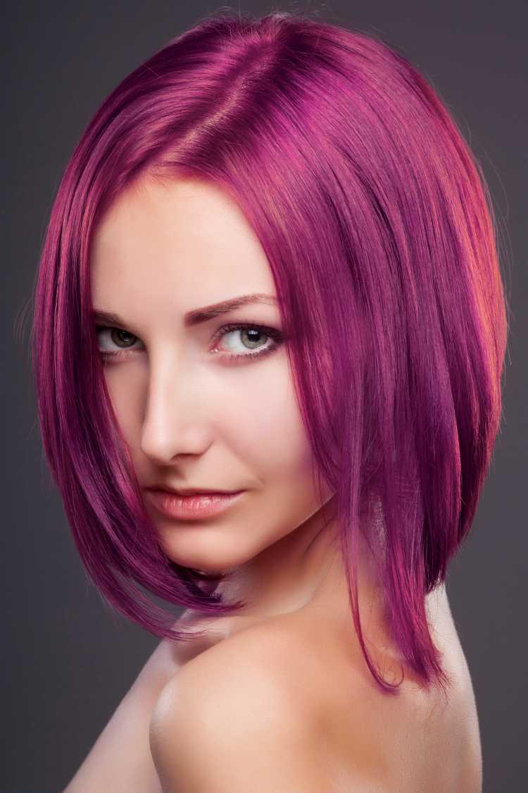 corte de cabelo para rosto oval estilo chanel
