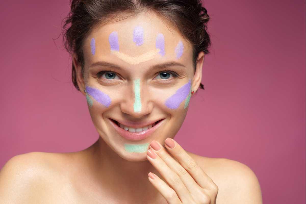 saber usar corretivo colorido é um dos truques para uma make perfeita