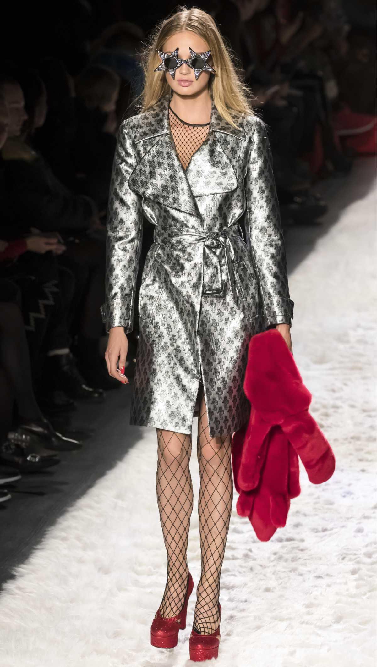 look com casaco glossy