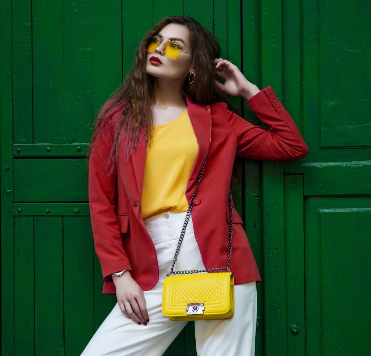 bolsa amarela, trend do inverno 2019