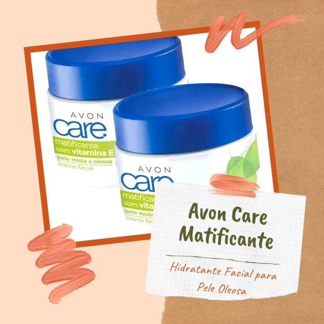 Creme Hidratante Avon Care Matificante para pele oleosa