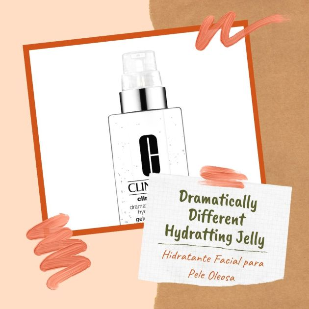 Creme Hidratante Facial Dramatically Different Hydratting Jelly para peles oleosas