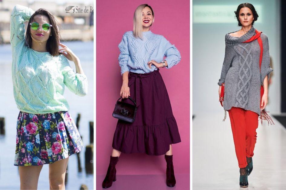 Blusa de lã é uma das tendências do outono/inverno 2020 - Foto: shutterstock