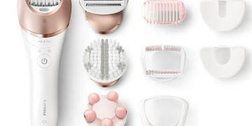 Depilador Satinelle Prestige Philips é um dos melhores depiladores elétricos femininos