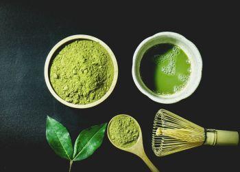 Receita da máscara de chá verde para crescer o cabelo