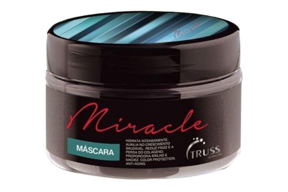Máscara Mask Miracle da Truss é um dos melhores produtos para cabelos loiros platinados