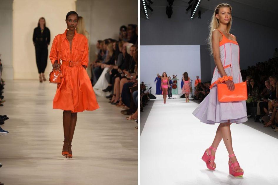 O neon é uma das trends da moda verão 2021