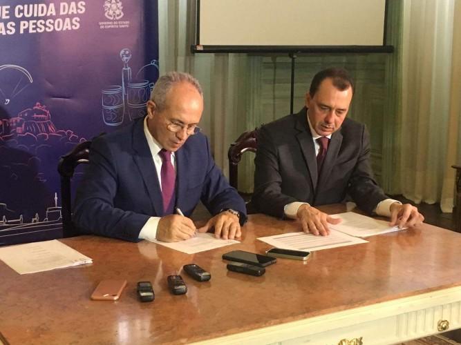 Governador Paulo Hartung anuncia R$ 90 milhões de investimentos em saúde e segurança pública