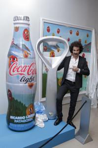 Paul, el sommelier de Coca-Cola light estuvo presente en el lanzamiento de Inspiraciones Argentinas