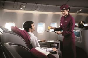 Qatar Airways' Boeing 777-300ER Business Class