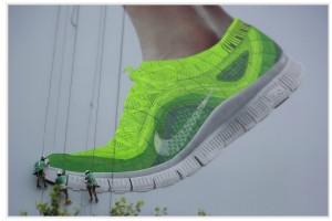 Nike aviso tejido