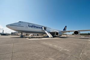 El nuevo Boeing 747-8 de Lufthansa
