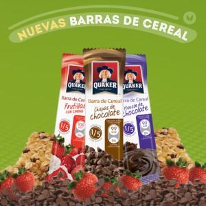 Barras de Cereal Quaker - Nueva imagen