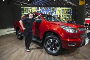 Chevrolet - Julian Weich en la presentacion de la S10HC