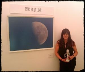 Ali en la luna