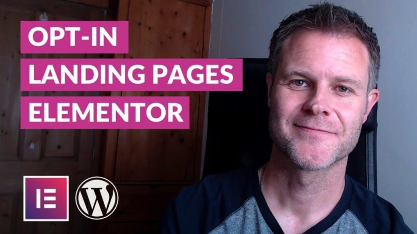 How to create a lead capture page with WordPress and Elementor