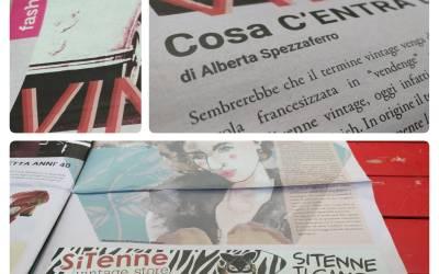 Alberta sul magazine freepress postit spiega le origini del Vintage