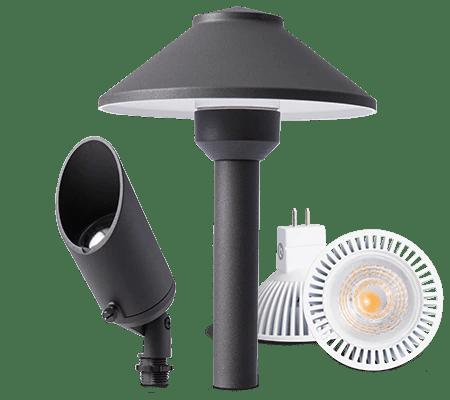 pro trade lighting for landscaping