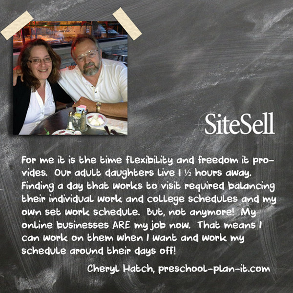 Personal Freedom Quote by Cheryl Hatch at http://www.sitesell.com/blog/2015/07/personal-freedom-quotes-by-everyday-entrepreneurs.html